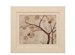 Abstract Autumn Tree I Framed Wall Art
