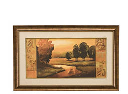 Tuscan Falls Framed Wall Art