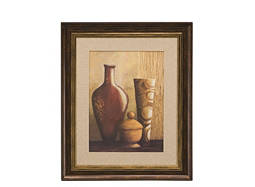 Global Vases I Framed Wall Art
