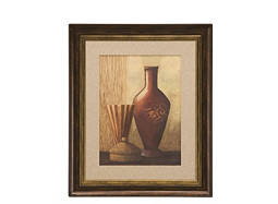 Global Vases II Framed Wall Art