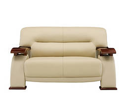 Metro Leather Loveseat
