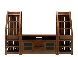 "Windridge 3-pc. Entertainment Center w/ 60"" TV Console"