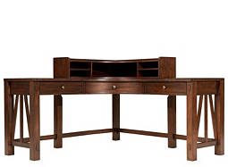 Castlewood 2-pc. Desk and Hutch