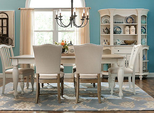 Fair Harbour 7 Pc Dining Set Dining Sets Raymour And