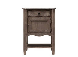 Cobblestone Small Granite Nightstand