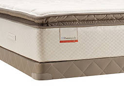Posturepedic® Blue Meadow Plush Euro Pillowtop Twin Mattress