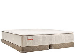 Posturepedic® Blue Meadow Firm Low-Profile Split Queen Mattress Set