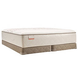 Posturepedic® Foster Lane Plush Low-Profile Split Queen Mattress Set