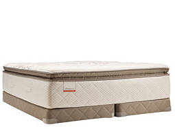 Posturepedic® Foster Lane Plush-Euro Pillowtop Low-Profile Split Queen Mattress Set