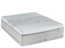 Posturepedic® Hybrid Ability Firm Low-Profile Split Queen Mattress Set