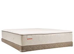 Posturepedic® Blue Meadow Firm Low-Profile Queen Mattress Set