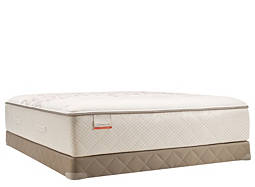 Posturepedic® Foster Lane Plush Low-Profile Queen Mattress Set