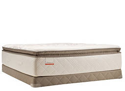 Posturepedic® Foster Lane Plush-Euro Pillowtop Low-Profile Queen Mattress Set