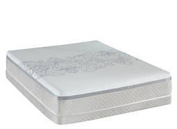 Posturepedic® Hybrid Trust Cushion Firm Low-Profile Queen Mattress Set