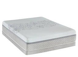 Posturepedic® Hybrid Majesty Ultra Plush Low-Profile Queen Mattress Set