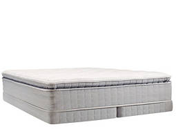 Perfect Sleeper® Dover Walk Pillowtop Low-Profile Split Queen Mattress Set