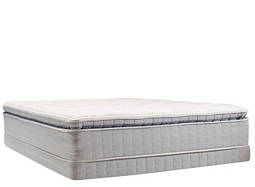 Perfect Sleeper® Dover Walk Pillowtop Low-Profile Queen Mattress Set
