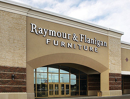 Raymour Furniture Store Cannon Gun