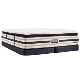 Beautyrest® Recharge™ World Class® Royal Palms Pillowtop Low-Profile Split Queen Mattress Set