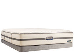 Beautyrest® Recharge™ Kimble Glen Plush Low-Profile Queen Mattress Set