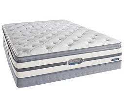 Beautyrest® Recharge™ Pierpont Pillowtop Low-Profile Twin Mattress Set
