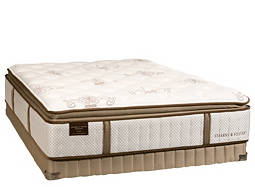 Estate Wanda Luxury-Plush Pillowtop Low-Profile Queen Mattress Set