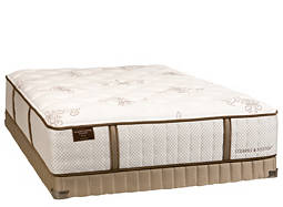 Estate Wanda Luxury-Plush Tight-Top Low-Profile Queen Mattress Set