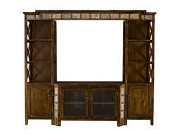 "Asheville 4-pc. Wall Unit w/ 45"" TV Console"