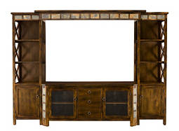 "Asheville 4-pc. Wall Unit w/ 60"" TV Console"