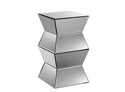 Lisette Mirrored Side Table