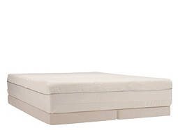 TEMPUR-Choice™ Supreme Adjustable-Feel Memory Foam Low-Profile Split Queen Mattress Set