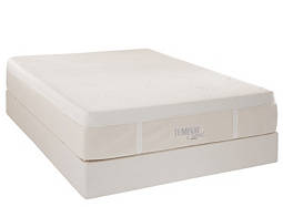 TEMPUR-Cloud® Luxe Softest Memory Foam Queen Mattress Set