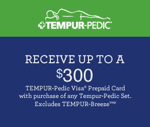 Save Up To $300 on Any Tempur-Pedic Set