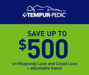 Save Up To $500 on Rhapsody and Cloud Luxe + Adjustable Bases