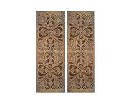 Alexia Metal Wall Panels: Set of 2