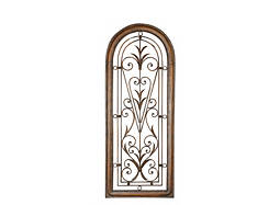 Cristy Petite Arched Metal Wall Decor