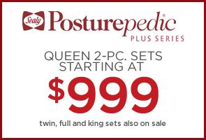 Sealy Posturpedic Plus starting at $999