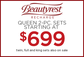 Beautyrest Recharge starting at $699