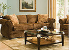 kathy ireland home kensington colors umber includes sofa sleeper sofa