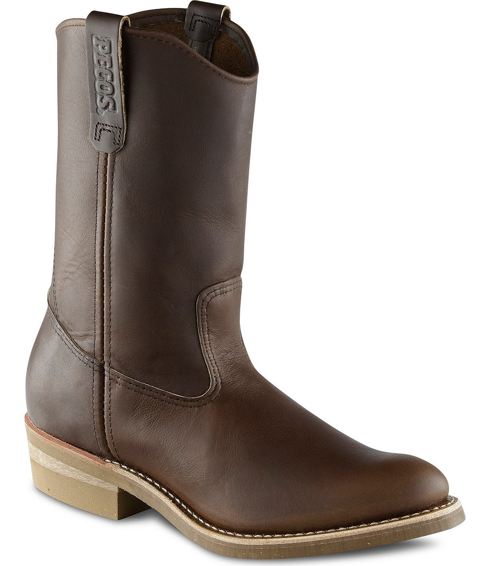 Red Wing Safety Boots - 1155 Red Wing Men's - 11-inch Pull-On Boot ...