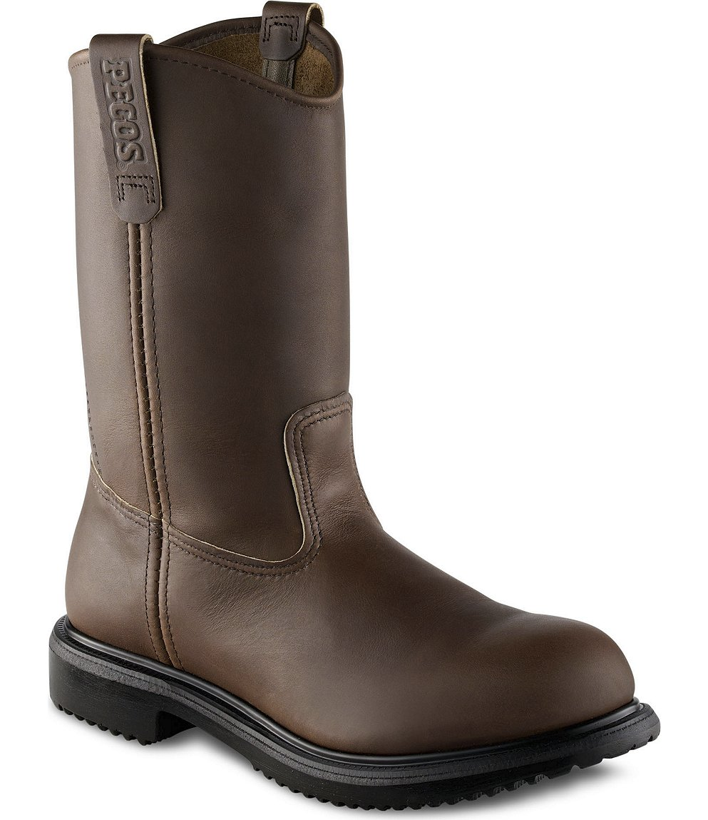 Red Wing Safety Boots - 8231 Red Wing Men&39s - 11-inch Pull-On Boot