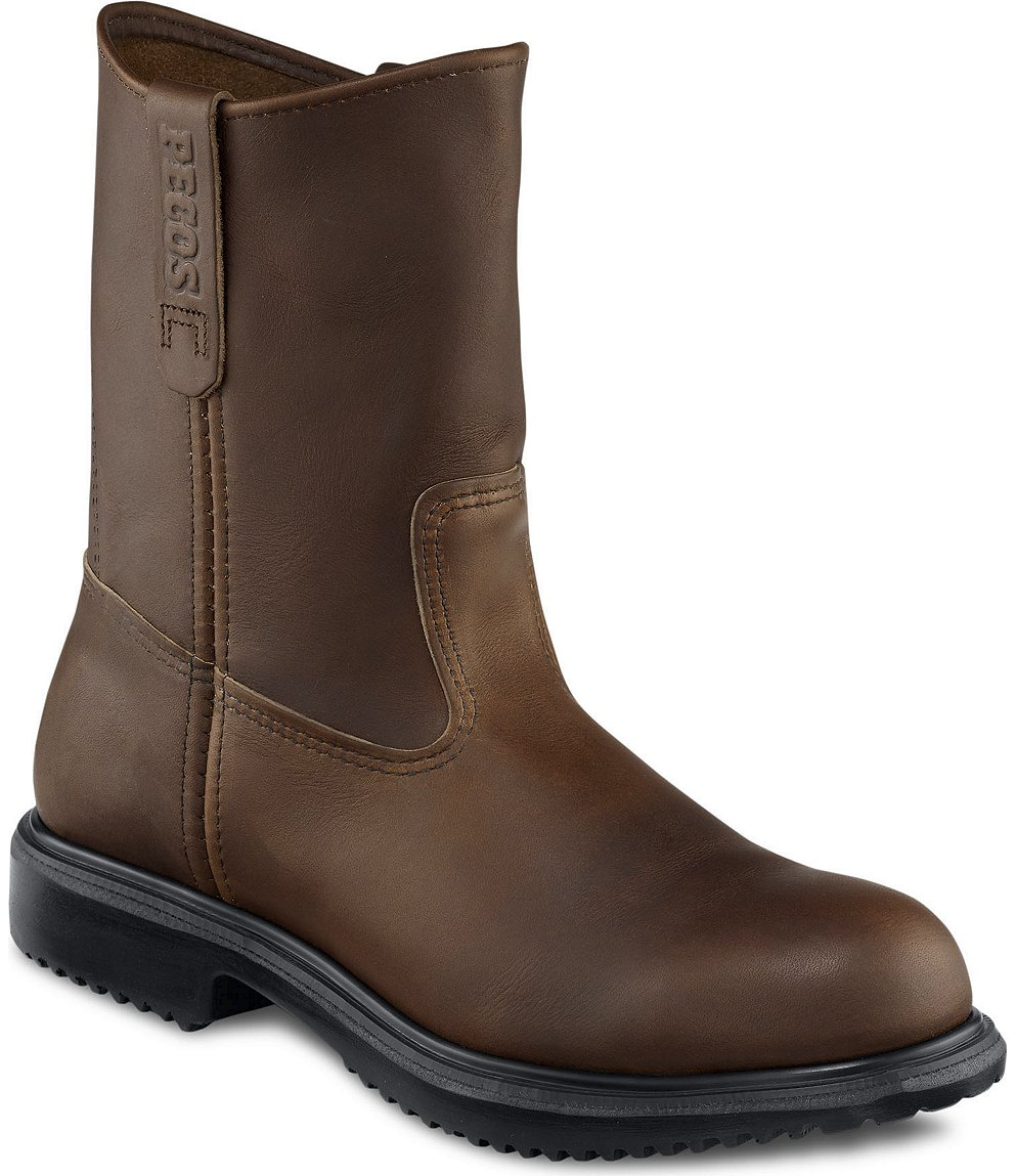 Red Wing Safety Boots - 8241 Red Wing Men's - 9-inch Pull-On Boot ...