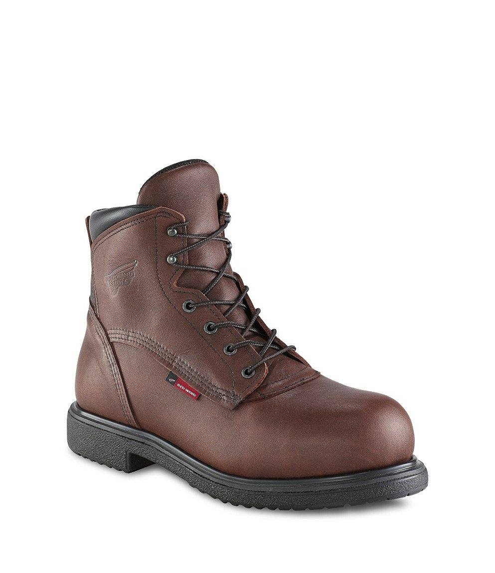 Red Wing Steel Toe Work Boots For Men - Cr Boot