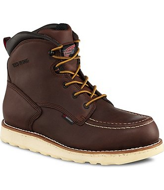 Red Wing Safety Boots 405 Red Wing Men S 6 Inch Boot Brown