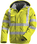 65188 Red Wing HI VIS,FR, Rain Jacket, Lined