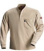 76571 Red Wing FR Henley Knit Shirt