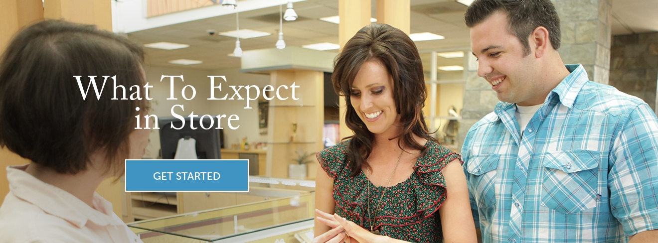 What to expect in store. Get Started.