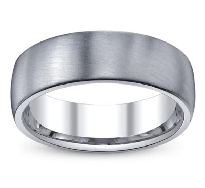diana palladium comfort fit wedding band - Palladium Wedding Rings