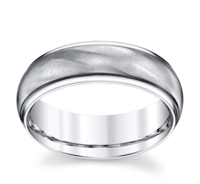 lashbrook cobalt 7mm wedding band - Cobalt Wedding Rings