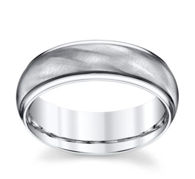 lashbrook cobalt 7mm wedding band - Cobalt Wedding Rings